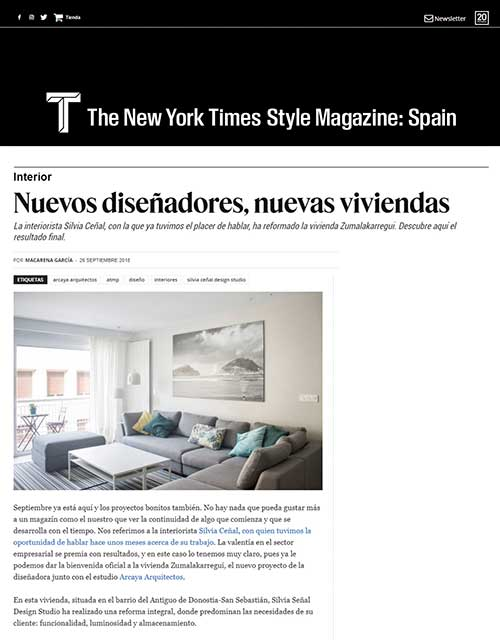 2018 TMagazine España