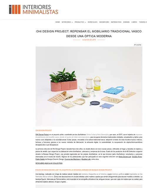 2019 Interiores Minimalistas España