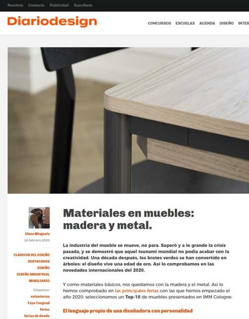 2020 Diario Design España