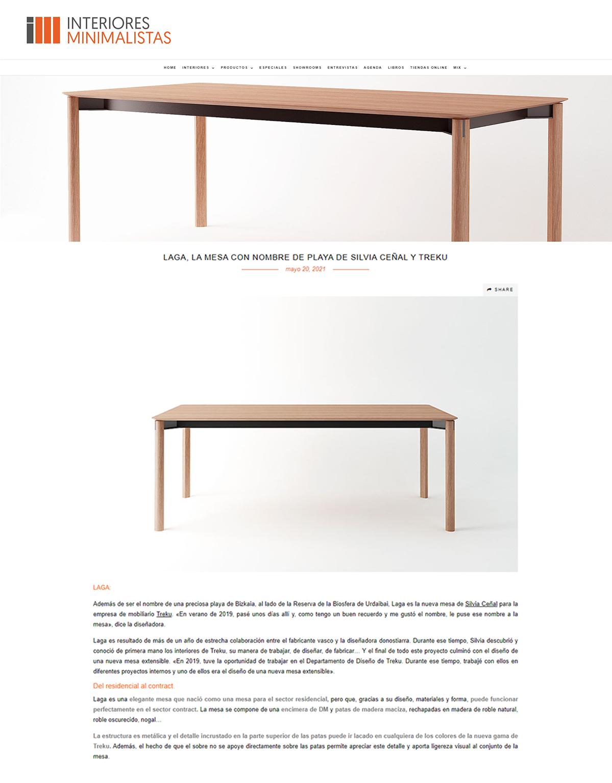 2021 Interiores Minimalistas España